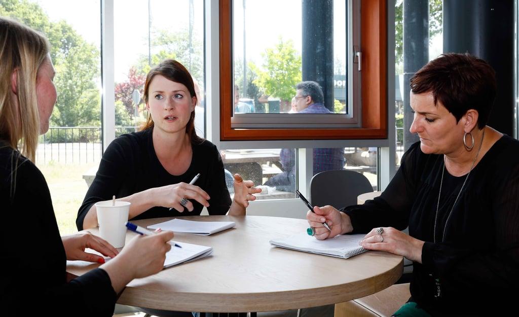 communicatieopleidingen bij Van der Hilst