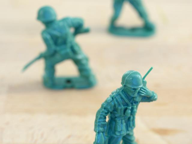 De woordvoerder als frontsoldaat